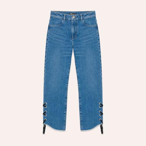 Jean court de coupe boyfriend - Jeans - MAJE