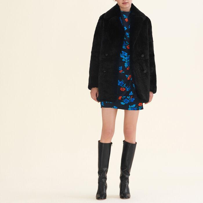 Manteau en lapin -  - MAJE