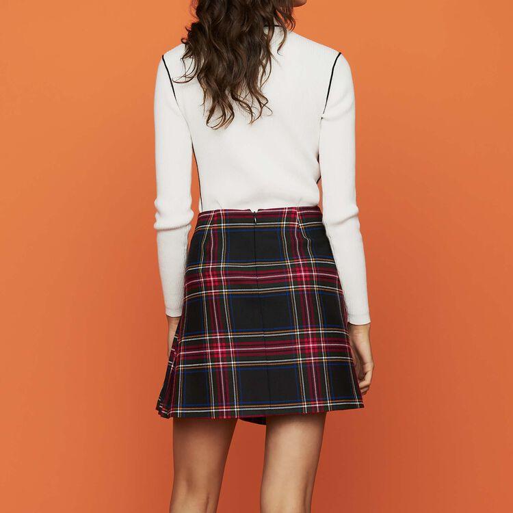 Jupe kilt à carreaux : Jupes & Shorts couleur CARREAUX