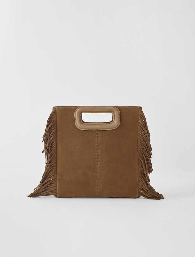 Sac M Suede - Nouvelle collection - MAJE