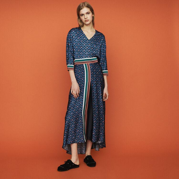 Robe à imprimé monogramme : Robes couleur IMPRIME