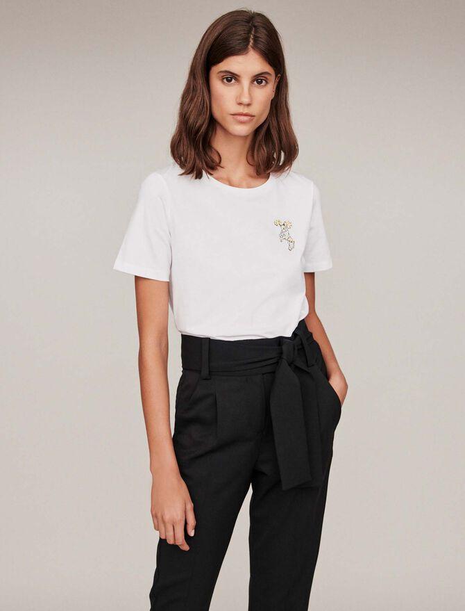 Tee-shirt signe astro « Belier » - T-Shirts - MAJE
