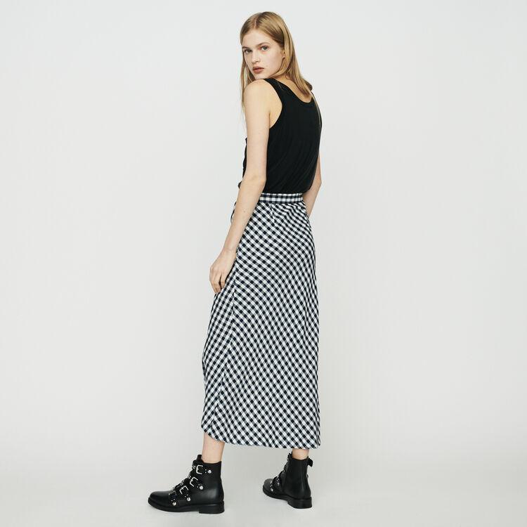 Jupe à imprimé vichy : Jupes & Shorts couleur CARREAUX