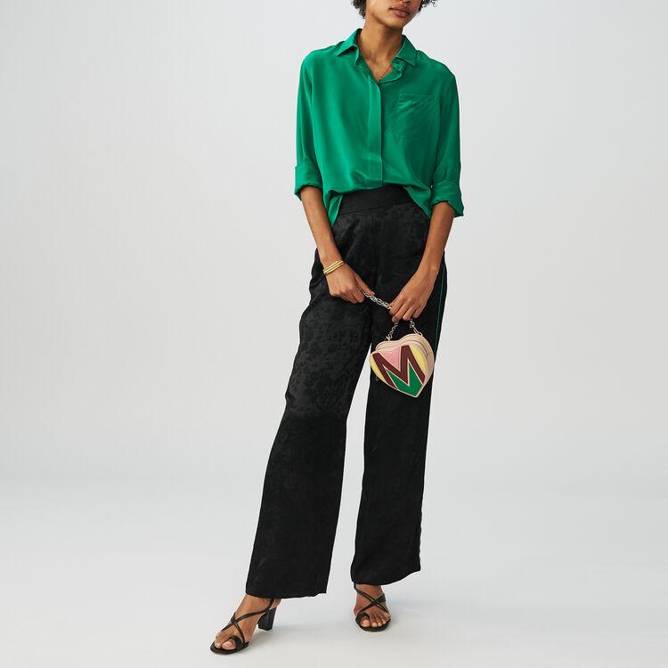 Pantalon Jacquard : Pantalons couleur Black