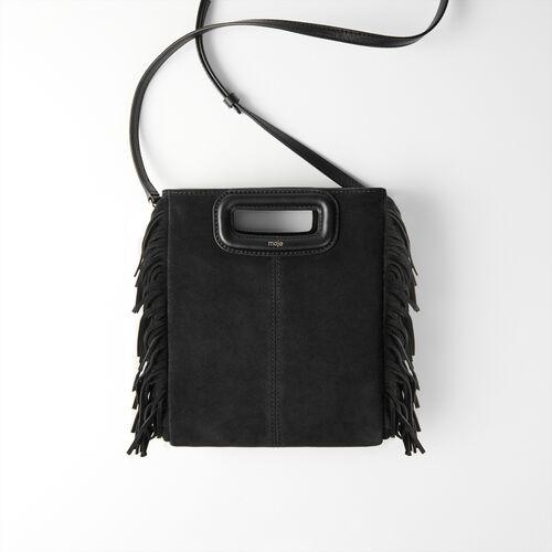 Sac M en suède : Tous les sacs couleur Noir
