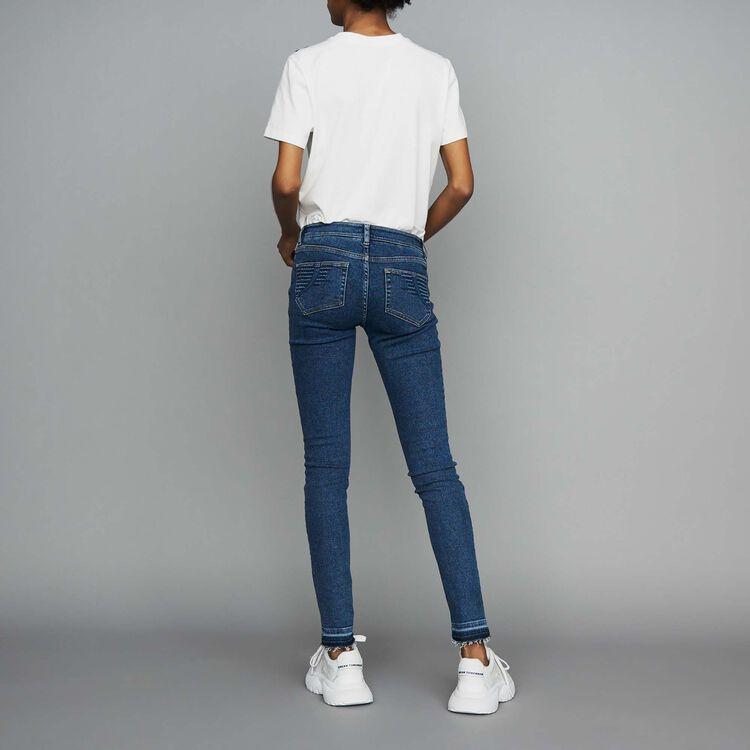 Jean skinny en denim : Jeans couleur Denim