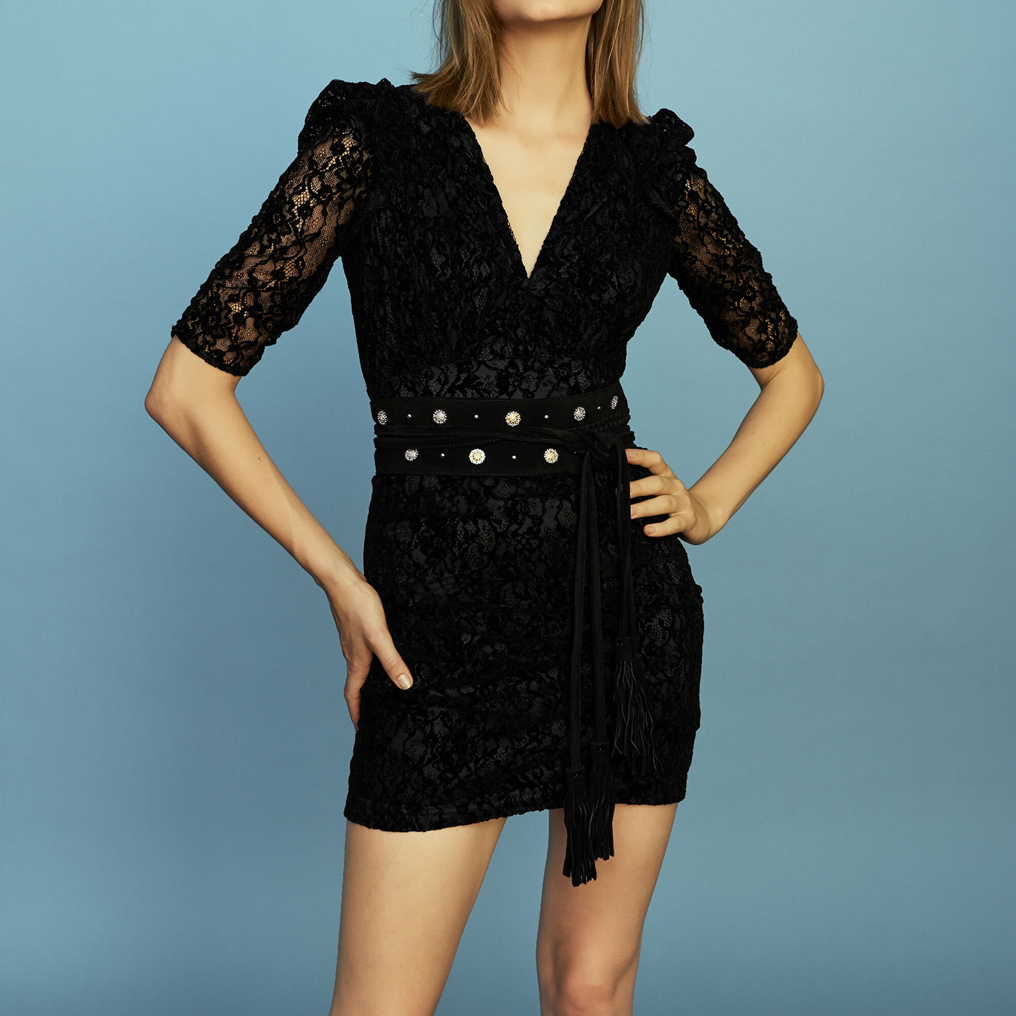 Dresses Maje À Féminin Blackfriday 1 De Paris ch Porter Prêt 8qP14vwE