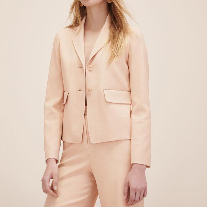 Veste de tailleur : Vestes & Blousons couleur ECRU