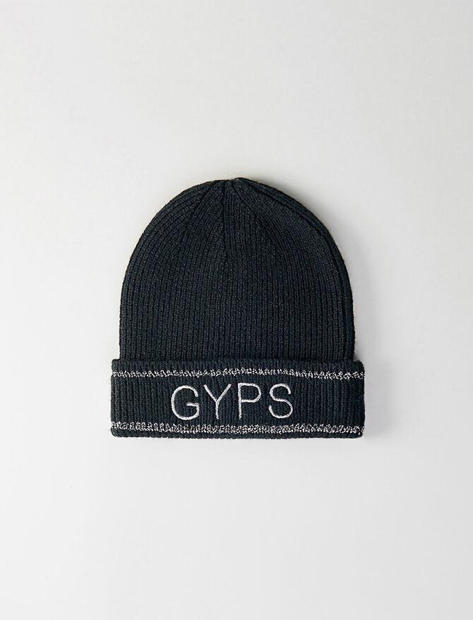 Bonnet en laine mélangée et Lurex Gyps - Bonnets et bobs - MAJE