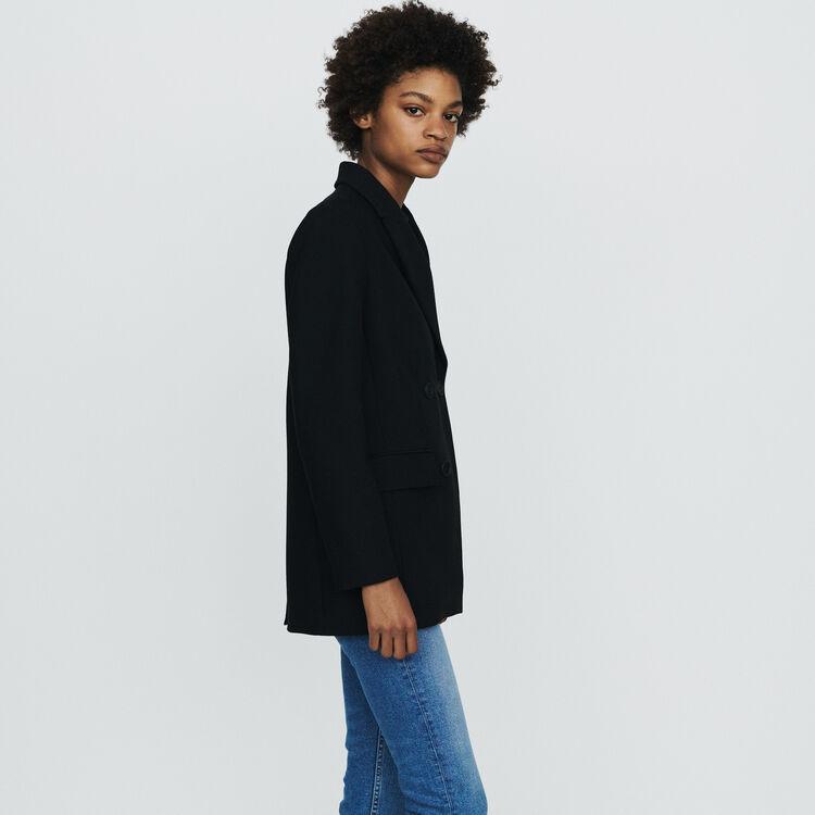 Veste de tailleur à boutons : Vestes couleur Black