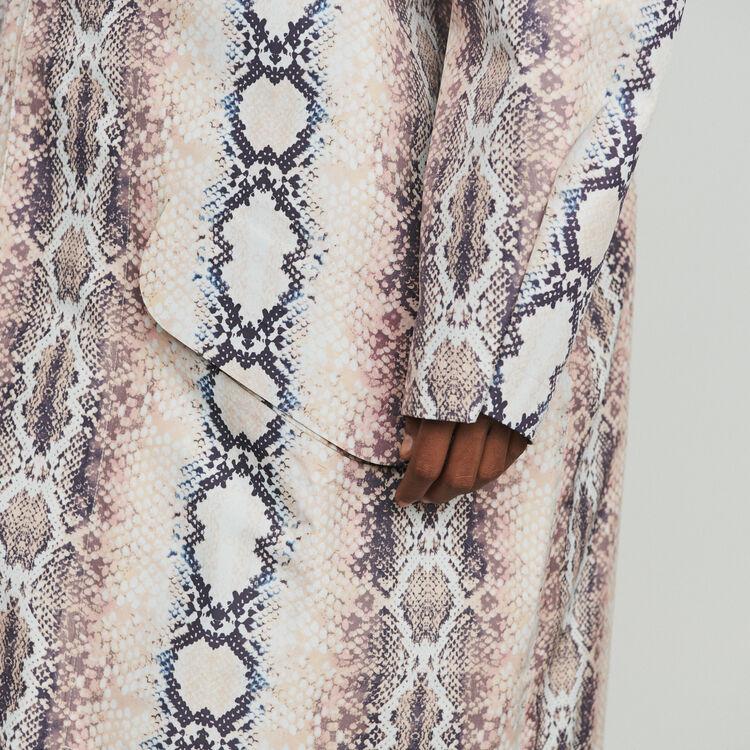 Coupe-vent à imprimé python : Manteaux & Blousons couleur Imprime