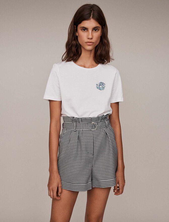 Tee-shirt signe astro « Verseau » - T-Shirts - MAJE