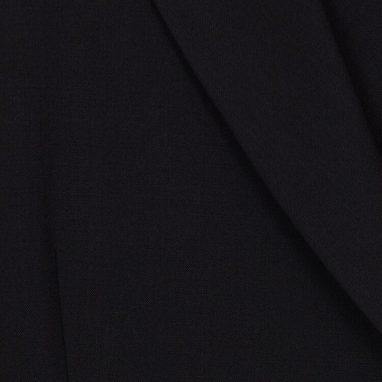 Robe-veste en laine mélangée : Robes couleur Black