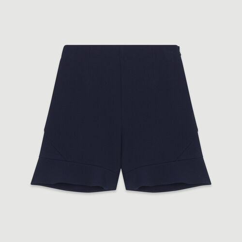 Short à volants : Jupes & Shorts couleur MARINE