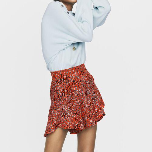 Short imprimé à volants : Jupes & Shorts couleur IMPRIME