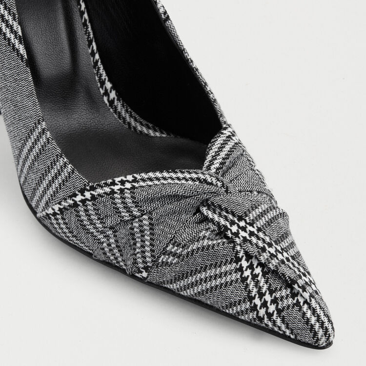 Escarpins drapés : Escarpins couleur CARREAUX