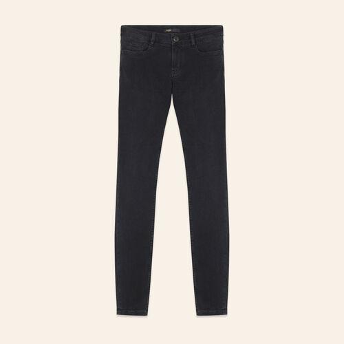 Jean skinny en coton stretch - Jeans - MAJE