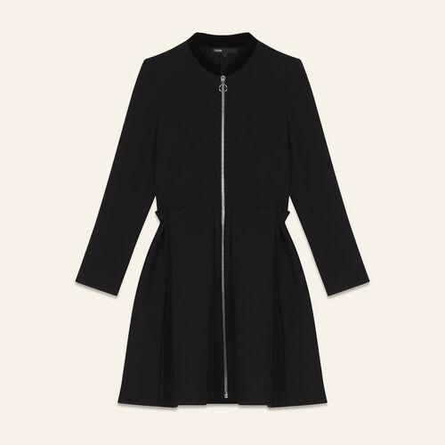 Robe zippée - Robes - MAJE