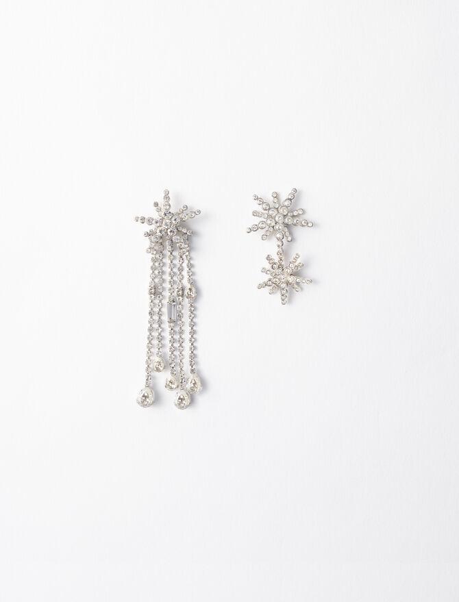 Boucles d'oreilles étoiles asymétrique - Bijoux - MAJE