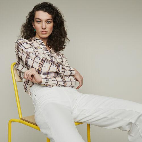 Chemise loose à carreaux : Chemises couleur CARREAUX