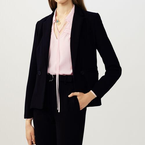 Veste courte esprit tailleur : Vestes couleur Black