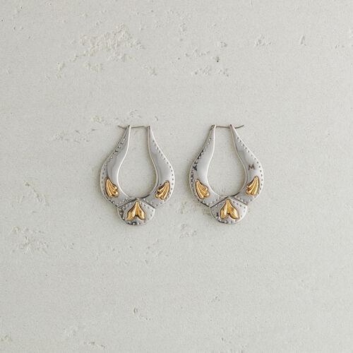 Boucles d'oreilles inspiration Western : Bijoux couleur Argent