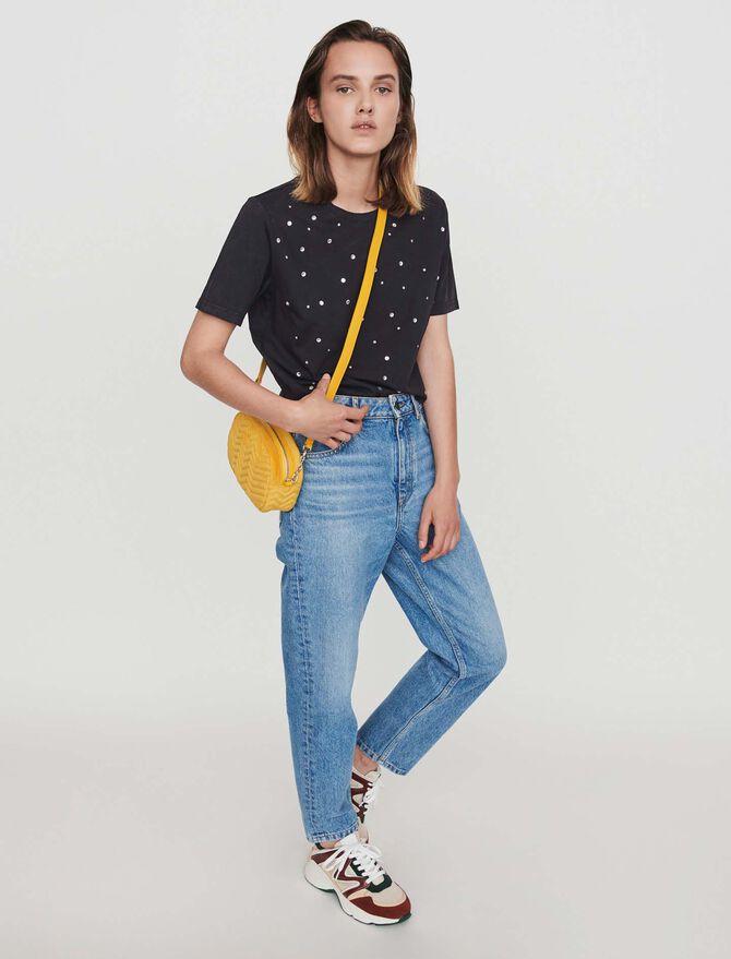 Tee-shirt strassé - Midseason-Sales_UK_30% - MAJE