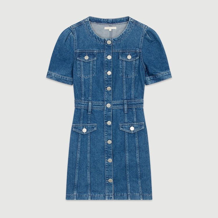 Robe en jean : Robes couleur Denim