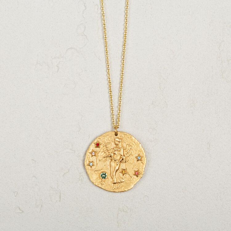 vierge collier signe du zodiac vierge bijoux maje paris. Black Bedroom Furniture Sets. Home Design Ideas