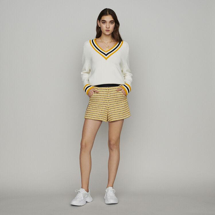 Sneakers W20 urbaines en cuir : Combinaisons couleur Blanc