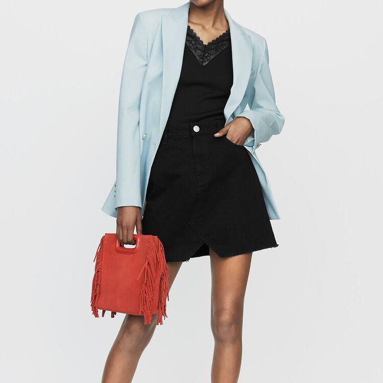 Jupe courte en jean : Nouvelle Collection couleur Black
