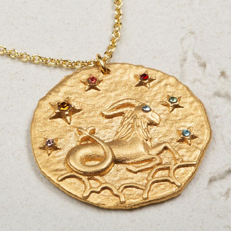 capricorn collier signe du zodiac capricorne bijoux maje paris. Black Bedroom Furniture Sets. Home Design Ideas