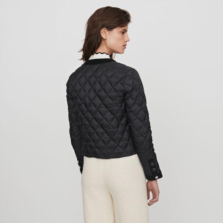 Doudoune légère à poches : Manteaux & Blousons couleur Noir