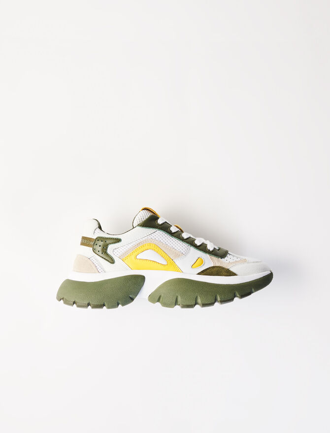 Sneakers W20 bicolores -  - MAJE