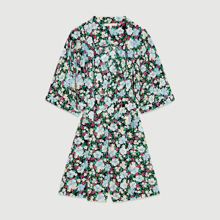 Combi-short à imprimé floral : Jupes & Shorts couleur IMPRIME