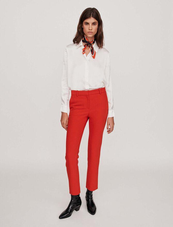 Pantalon droit - Pantalons - MAJE