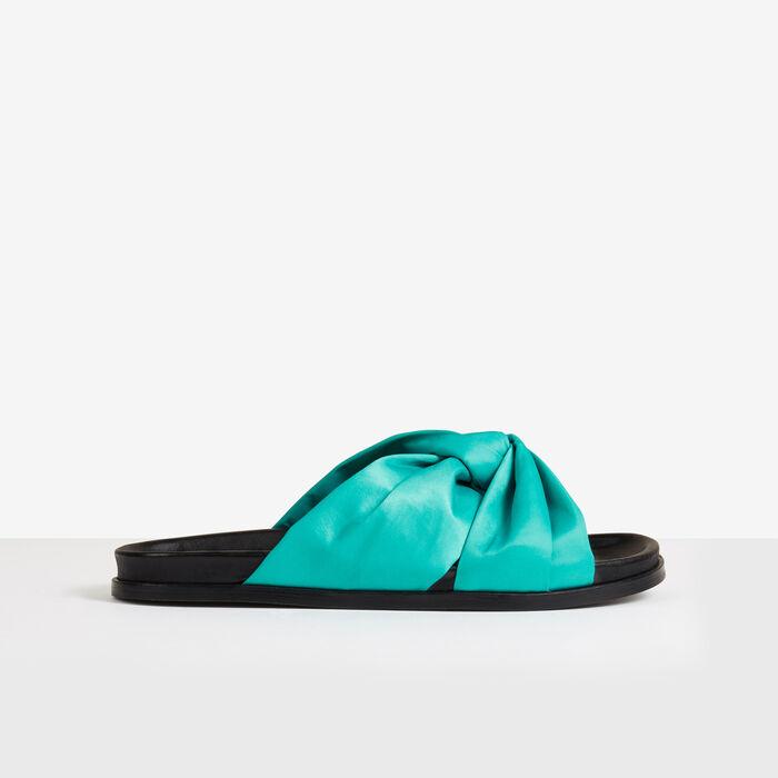 Sandales plates -  - MAJE