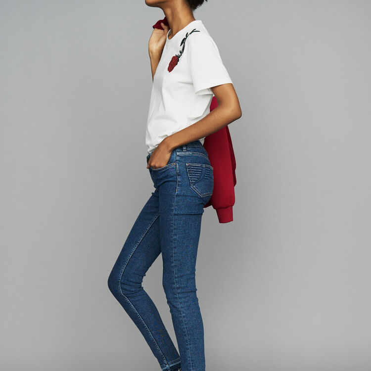 Jean skinny en denim : Nouvelle Collection couleur Denim