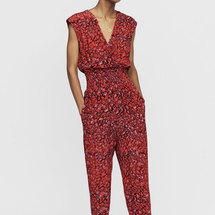 Combinaison-pantalon sans manches : Nouvelle Collection couleur IMPRIME