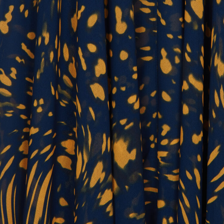 Robe asymétrique imprimée : Robes couleur IMPRIME