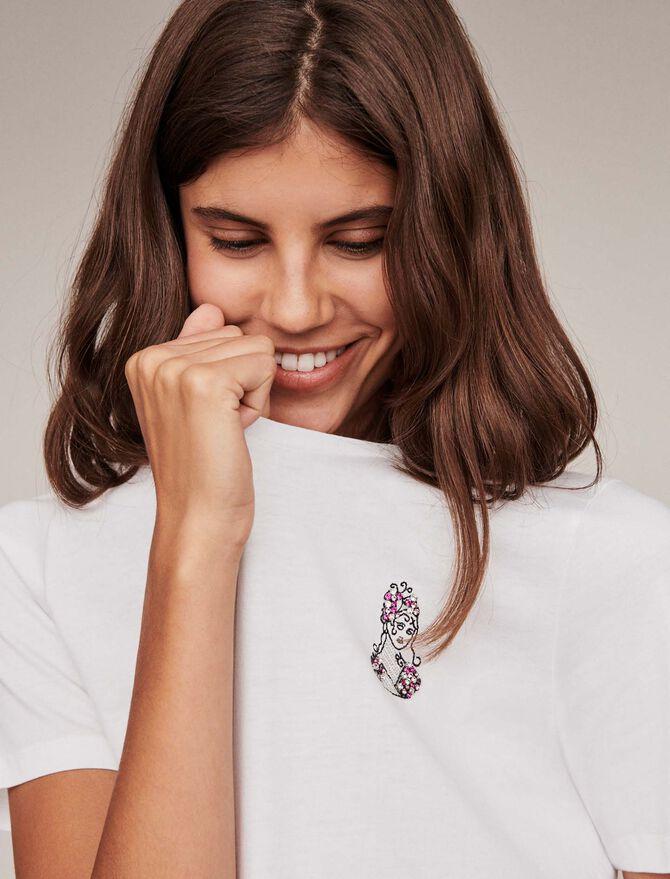 Tee-shirt signe astro « Vierge » - T-Shirts - MAJE