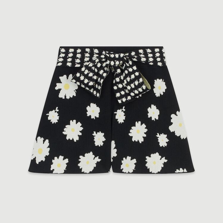 Short noué à la taille : Jupes & Shorts couleur Jacquard