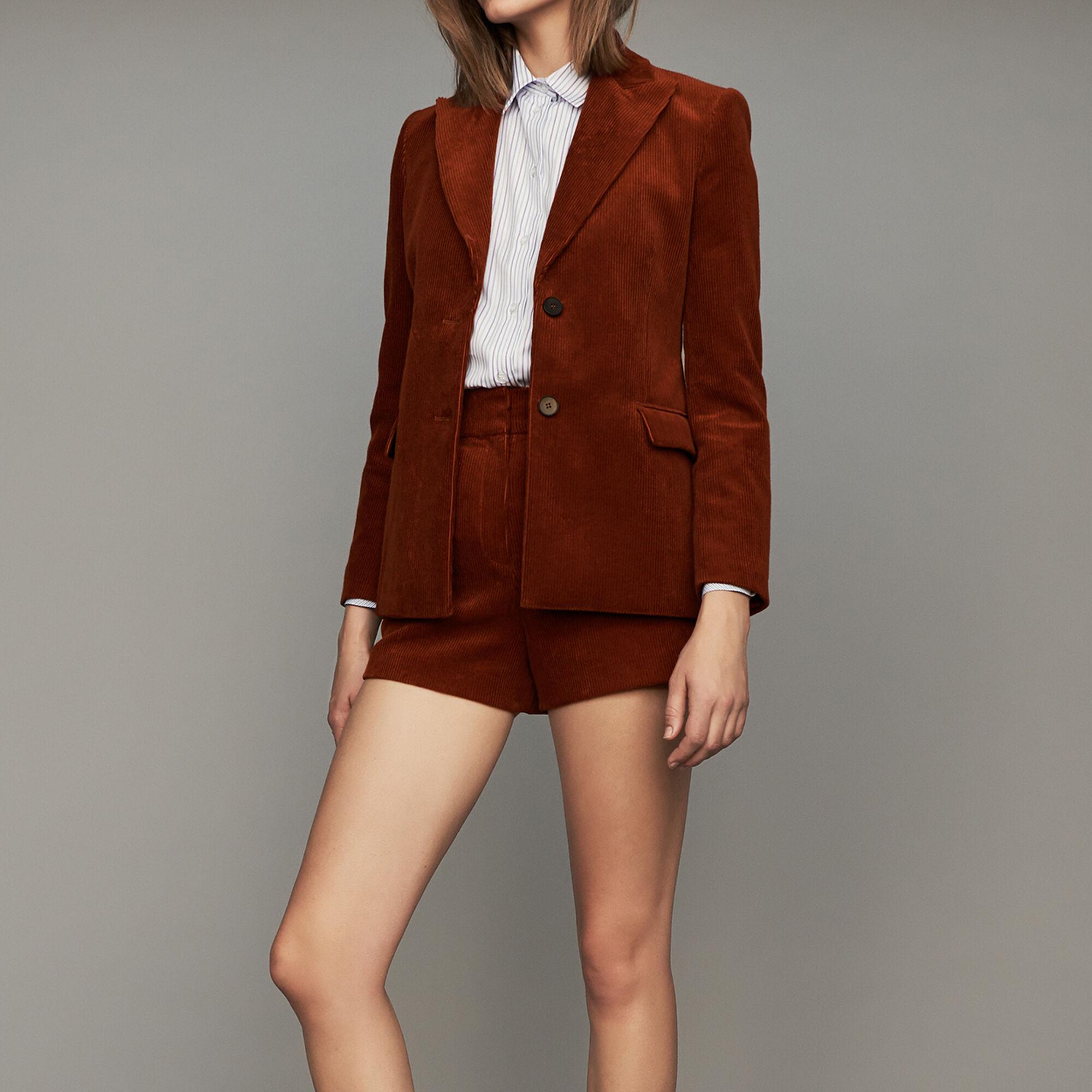 Veste tailleur manteau