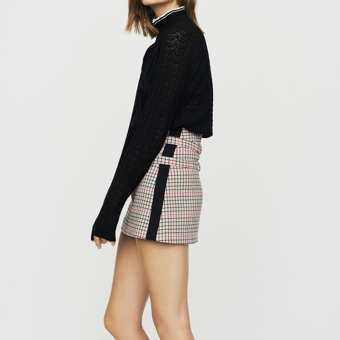 Pull en maille chevrons - Back in town - MAJE