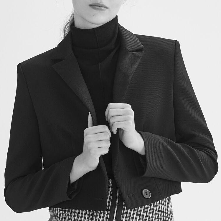 Veste courte : Vestes couleur Black