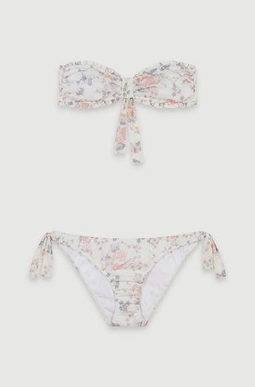 Bikini à imprimé floral en coton
