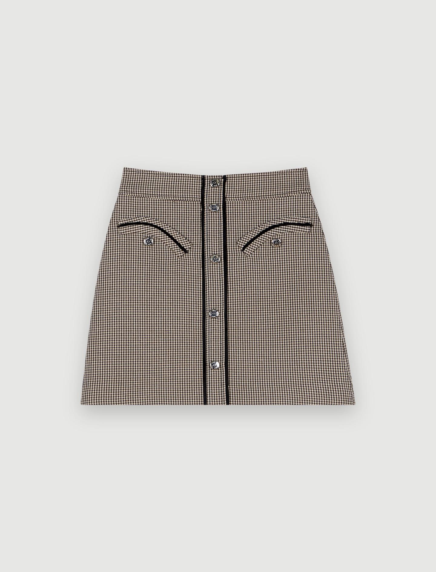 Maje Short laine 34 (XS, T0)