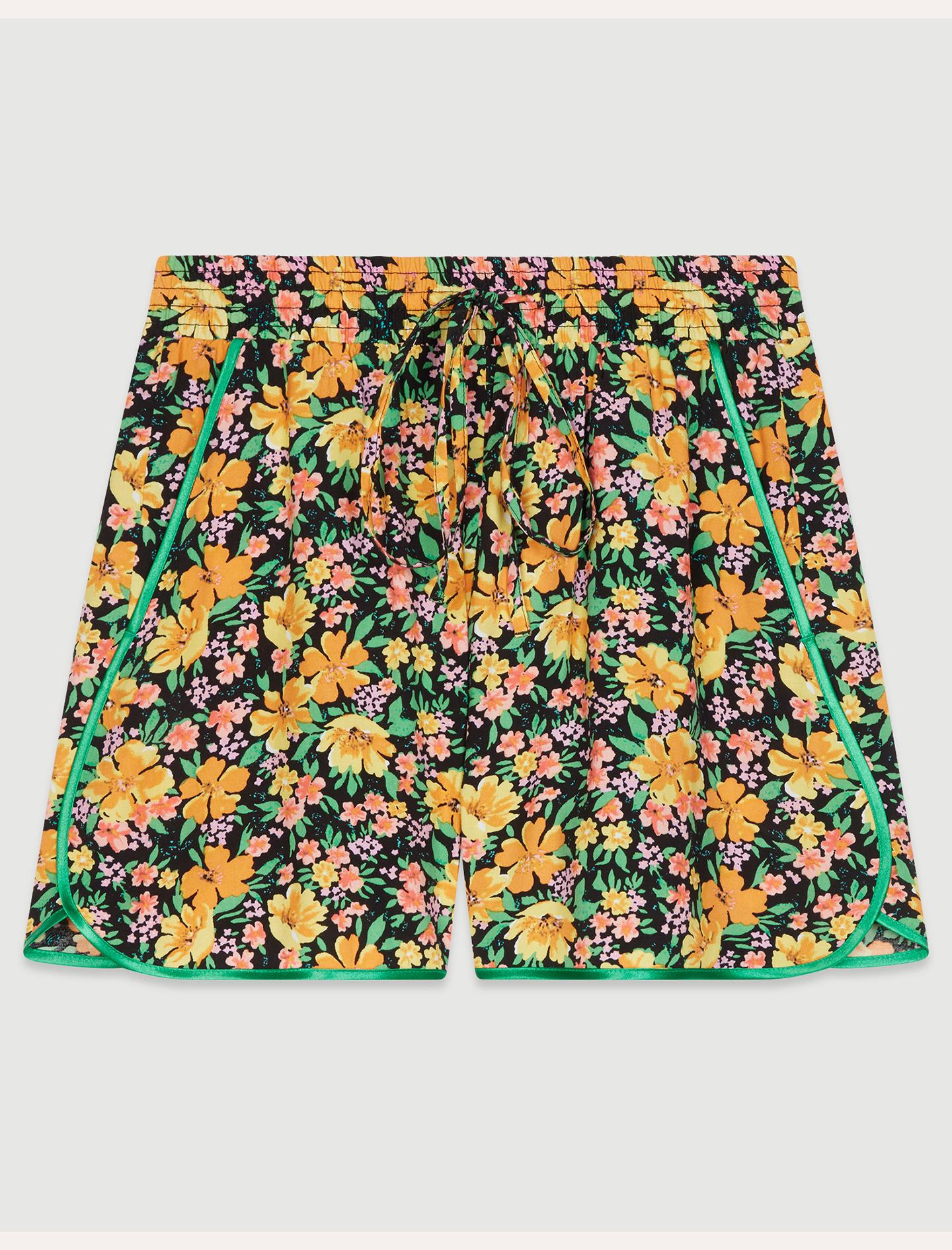 IKAEL Short fluide à imprimé floral Jupes & Shorts